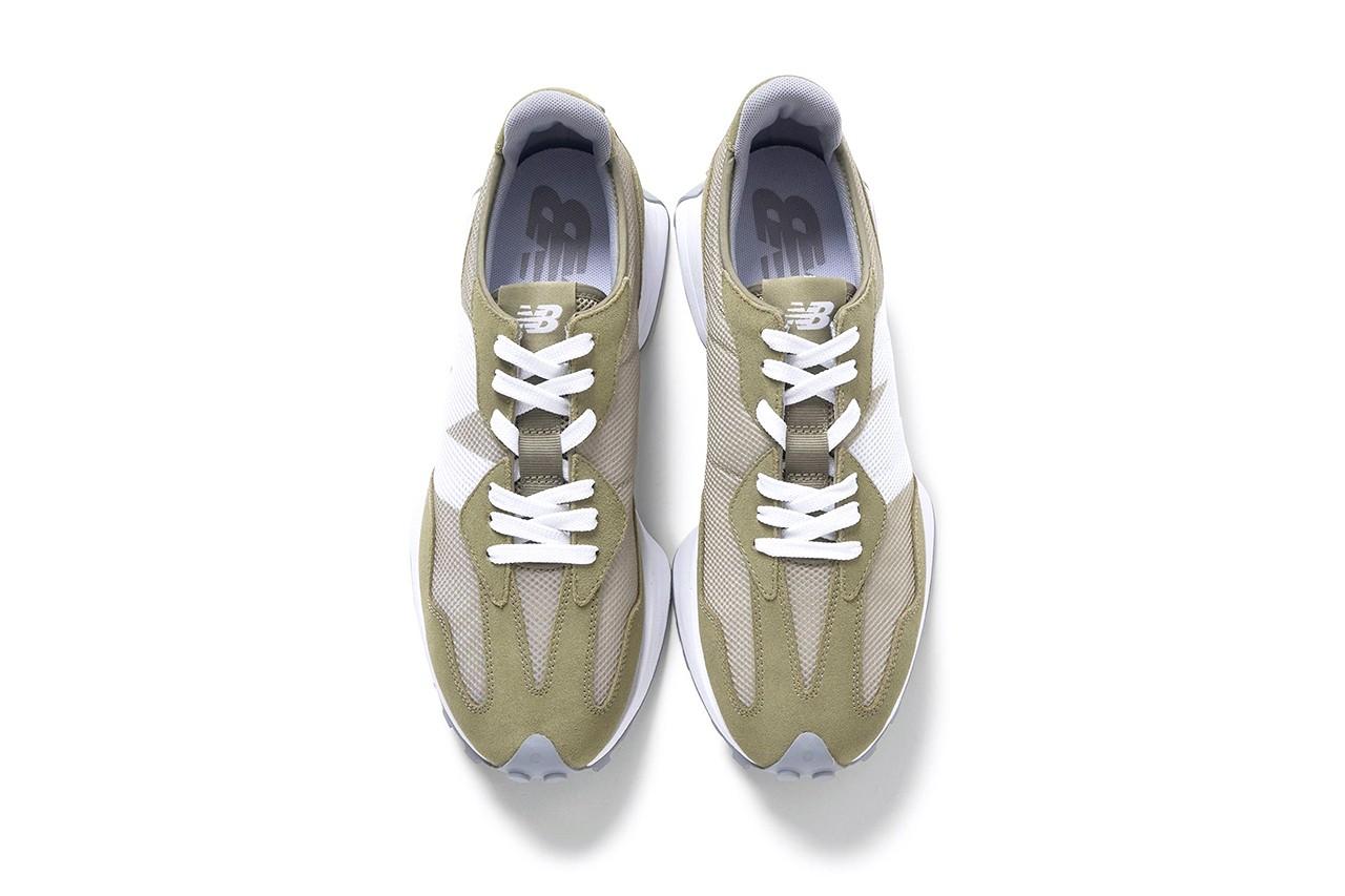 今夏最百搭!日本时尚品牌BEAUTY&YOUTH释出New Balance 327 橄榄绿配色!插图5