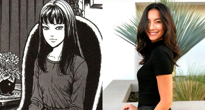美国版《富江》女主角出炉!黑长直「迷幻眼神」曝光:100%还原