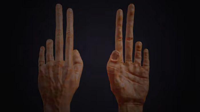太常打电动!模拟手指演化「无名指惨萎缩」 惊悚画面曝光 - 收藏派