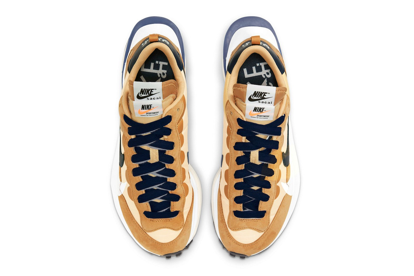 再次成为春夏爆款!sacai x Nike Vaporwaffle「Sesame」公布发售资讯及官方近照!插图3