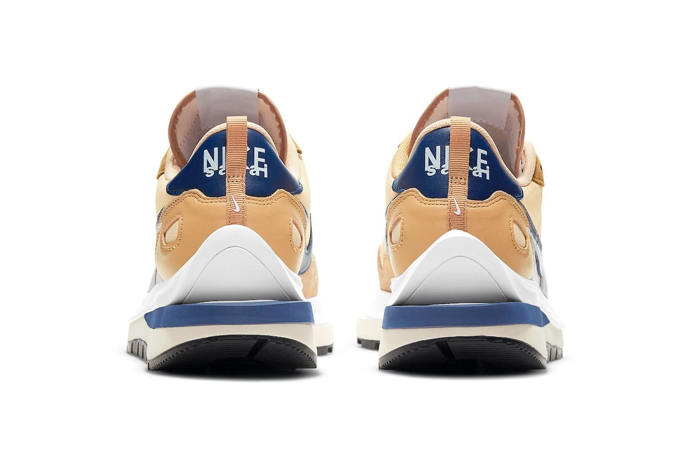 再次成为春夏爆款!sacai x Nike Vaporwaffle「Sesame」公布发售资讯及官方近照!插图4