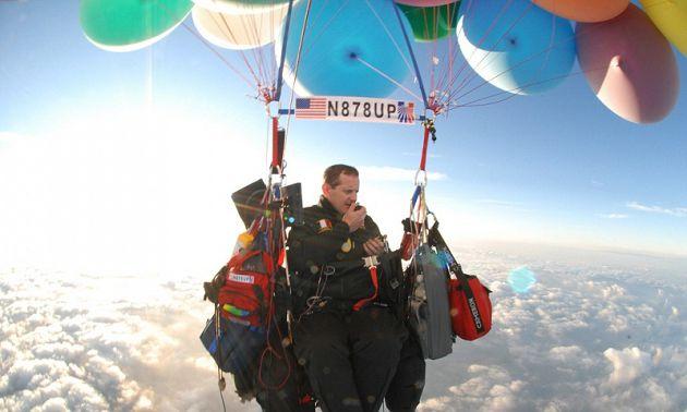 真人版天外奇蹟!46岁阿伯「热气球旅行」:想要不一样的人生