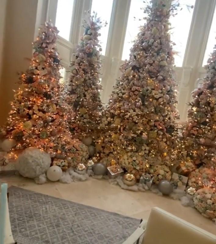 扫「11台PS5」庆圣诞!卡蒂B家中惊见「魔法森林」 网:太奢侈 - 收藏派