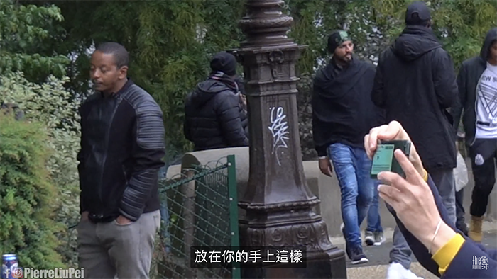 专挑亚洲人下手!YouTuber「刘沛」法国街上「遭黑人强拦」引网爆量讨论 - 收藏派