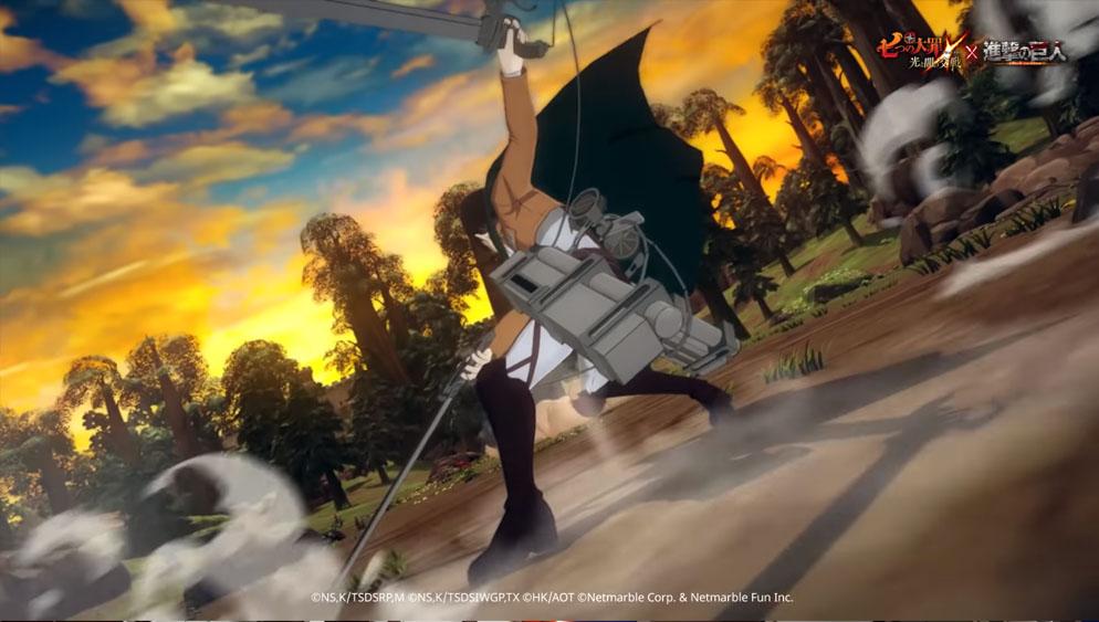 準备吃土!《七大罪:光与暗之交战》X《进击的巨人》新角色全曝光 插图2