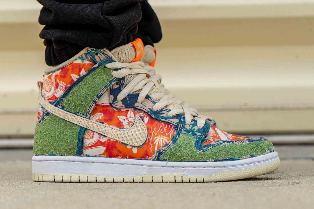直接用大麻品种命名!Nike SB Dunk High「Maui Wowie」释出,双层鞋面充分发挥「草」的力量! - 收藏派