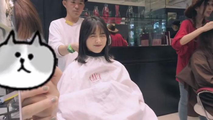 甜美女神「沈月」耳下5cm「激短髮亮相」!「髮量藏大亮点」全网笑喷! - 收藏派