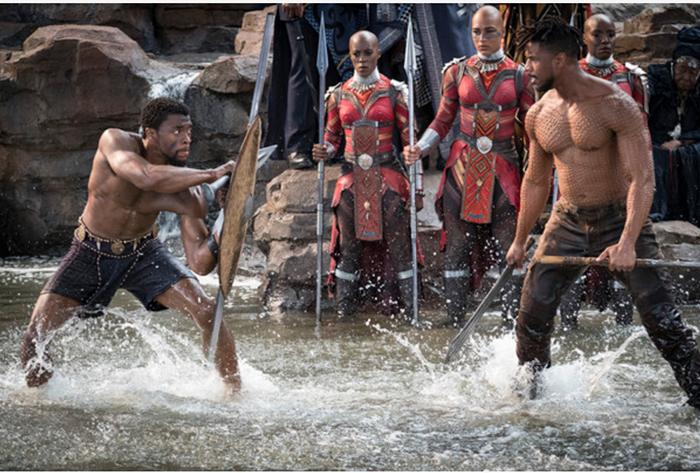 《黑豹》全球首映狂扫2700万票房!击败《钢铁人》、《美国队长》登开片首日票房冠军!